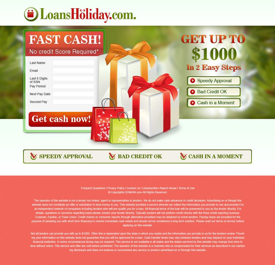 #47 for Design Landing Page #1 Shopping Product In 2013 Shopping Season In USA... Can you design better than Santa Claus? by BillWebStudio