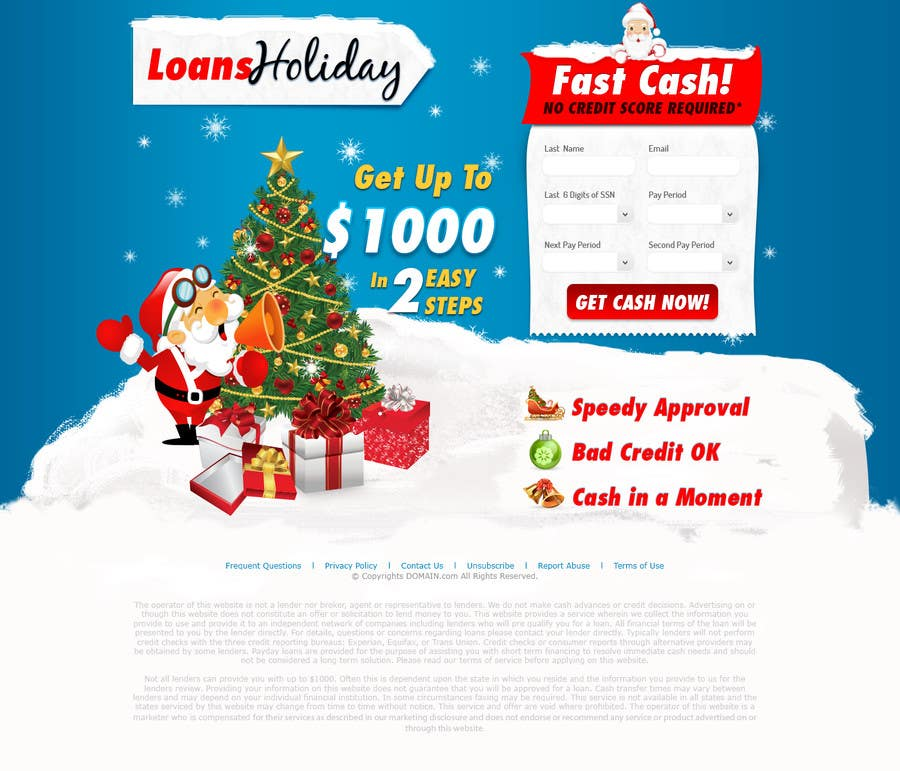 #29 for Design Landing Page #1 Shopping Product In 2013 Shopping Season In USA... Can you design better than Santa Claus? by vw7993624vw