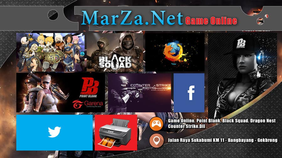 Contest Entry For Create Warnet Game Online Banner