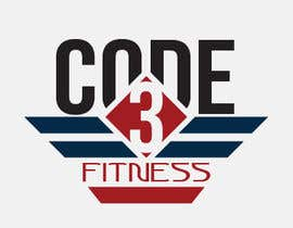 nº 12 pour Design a Logo for Code 3 Fitness par csdesigns7