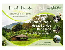 #67 untuk Design a Advertisment for Udzungwa Forest Tented Camp oleh pris
