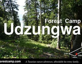 #5 para Design a Advertisment for Udzungwa Forest Tented Camp por zboyd