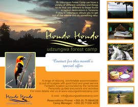#3 untuk Design a Advertisment for Udzungwa Forest Tented Camp oleh PrithvirajsinghC