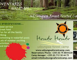 #7 untuk Design a Advertisment for Udzungwa Forest Tented Camp oleh nandhakumar0711