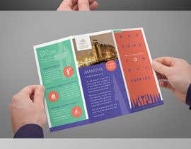 nº 30 pour Create city-map brochure design for hotel customer service + branding par amandachien