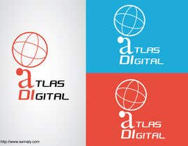 nº 58 pour Improve a logo for Atlas digital par dheerthan2