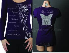 nº 13 pour Design a T-Shirt for Walk to cure Lupus par MariInk
