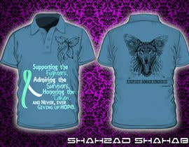 nº 2 pour Design a T-Shirt for Walk to cure Lupus par shahzadshahab