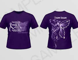 nº 6 pour Design a T-Shirt for Walk to cure Lupus par inkpotstudios