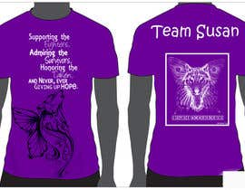 #1 para Design a T-Shirt for Walk to cure Lupus por klaragottert
