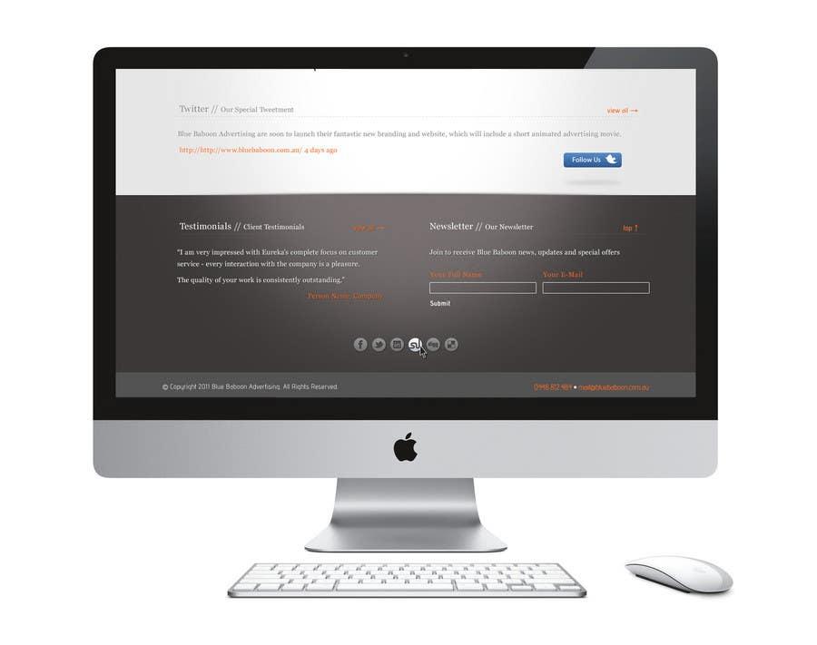 Inscrição nº                                         8                                      do Concurso para                                         Wordpress Theme Design for Blue Baboon Advertising