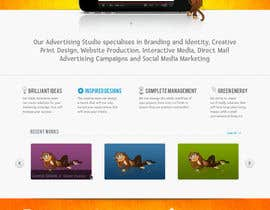 nº 54 pour Wordpress Theme Design for Blue Baboon Advertising par cnlbuy