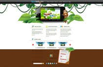 #16 for Wordpress Theme Design for Blue Baboon Advertising by Flamex