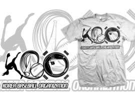 #12 untuk Design a T-Shirt for a Korean baseball website oleh mckirbz