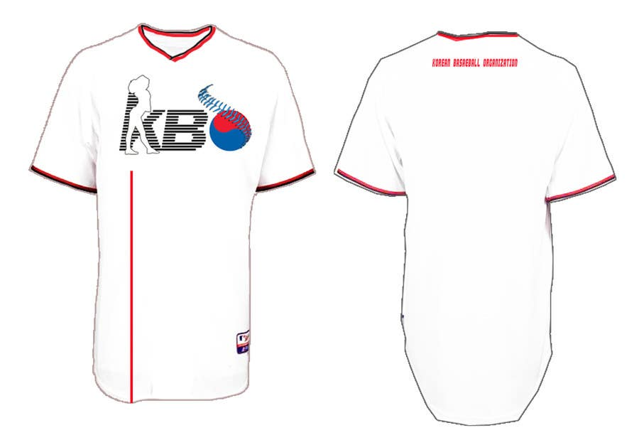 Konkurrenceindlæg #8 for Design a T-Shirt for a Korean baseball website