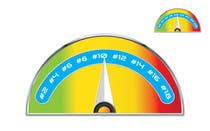 Contest Entry #11 for Need a website graphic of a meter / gauge
