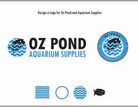 #54 untuk Design a Logo for Oz Pond and Aquarium Supplies oleh roman230005