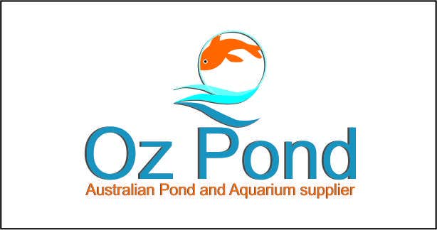 Entry #59 by jinupeter for Design a Logo for Oz Pond and