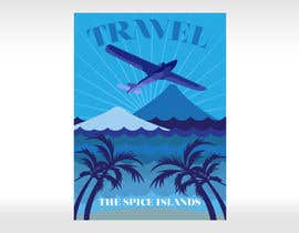 #12 para Design retro travel poster por pupster321