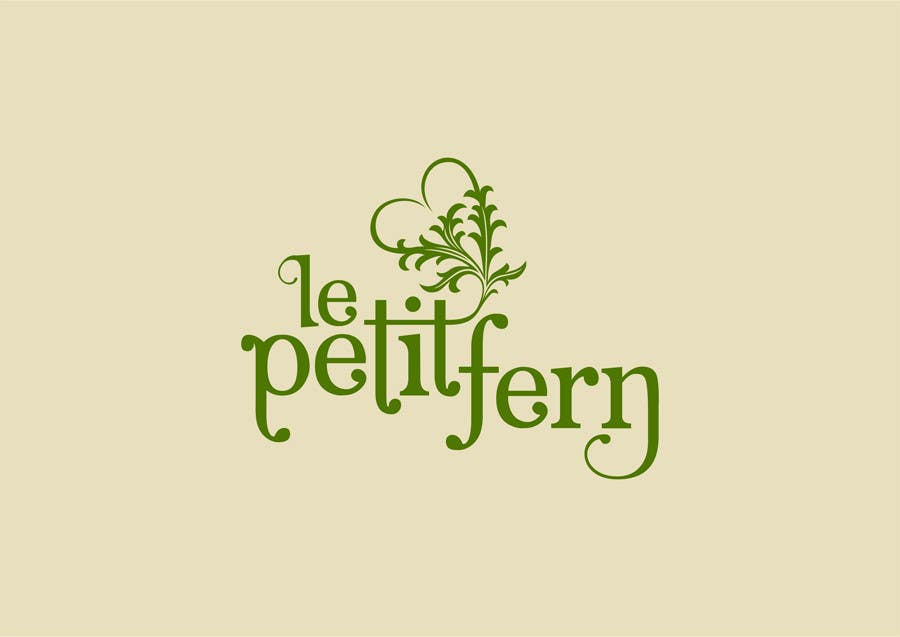 #97 for Design a Logo for le petit fern by rogerweikers