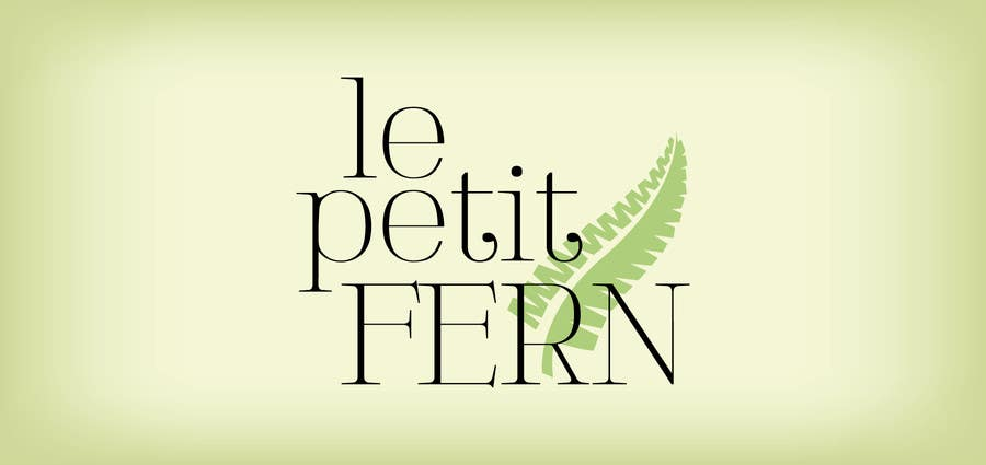 #51 for Design a Logo for le petit fern by KelDelp