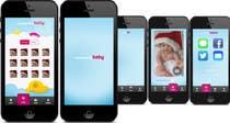 Bài tham dự #2 về Graphic Design cho cuộc thi Design an App Mockup for FUN picture APP.  Sleek, fun, simple, colorful!