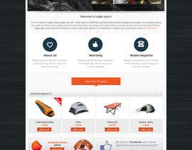 #13 cho Design a Website Mockup for Ledge Sports bởi Pavithranmm