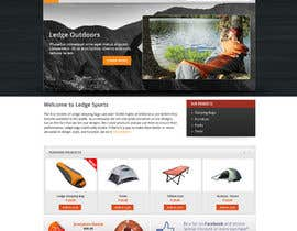 #19 cho Design a Website Mockup for Ledge Sports bởi Pavithranmm