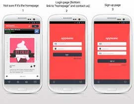 nº 10 pour Design an App Mockup for a HTML 5/Android/Iphone/Blackberry Application par reginayanzon