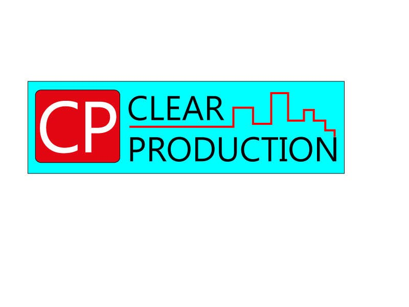 "Contest Entry #                                        14                                      for                                         Logo Design for ""CLEAR PRODUCTION"" - Recording a mixing studio in Copenhagen"