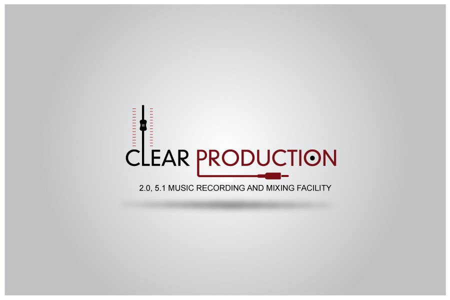 "Proposition n°                                        1181                                      du concours                                         Logo Design for ""CLEAR PRODUCTION"" - Recording a mixing studio in Copenhagen"