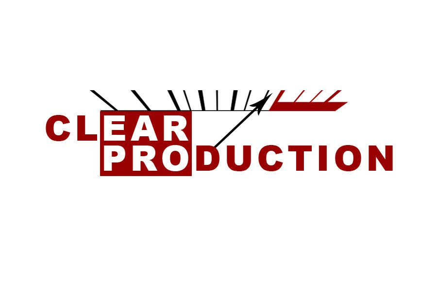 "Contest Entry #                                        11                                      for                                         Logo Design for ""CLEAR PRODUCTION"" - Recording a mixing studio in Copenhagen"