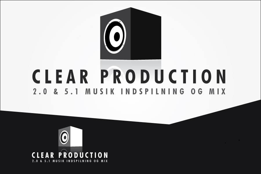 """Contest Entry #                                        1102                                      for                                         Logo Design for """"CLEAR PRODUCTION"""" - Recording a mixing studio in Copenhagen"""