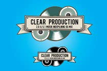 "Graphic Design Contest Entry #625 for Logo Design for ""CLEAR PRODUCTION"" - Recording a mixing studio in Copenhagen"