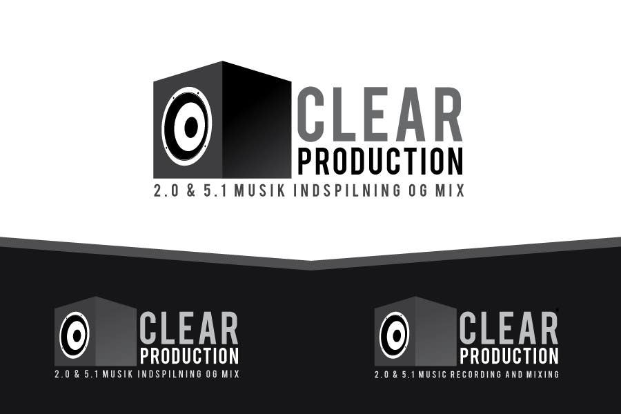 "Contest Entry #                                        1187                                      for                                         Logo Design for ""CLEAR PRODUCTION"" - Recording a mixing studio in Copenhagen"