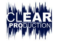 "Graphic Design Contest Entry #1078 for Logo Design for ""CLEAR PRODUCTION"" - Recording a mixing studio in Copenhagen"