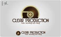 """Graphic Design Contest Entry #638 for Logo Design for """"CLEAR PRODUCTION"""" - Recording a mixing studio in Copenhagen"""