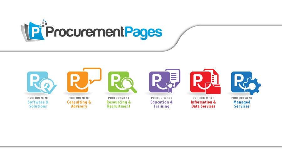 Penyertaan Peraduan #93 untuk Design Six Icons for Directory Website