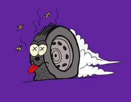#7 cho Car Tire Character bởi erikalogiudice
