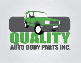 #2 para Design a Logo for Quality Auto Body Parts Inc. por dannnnny85