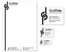 #11 untuk Design some stationary for Deaf Pubs oleh AnaKostovic27