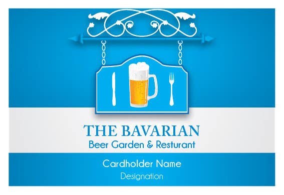 #14 for Design a Menu and Business Card for a Bavarian Restaurant and Beer Garden by blackd51th