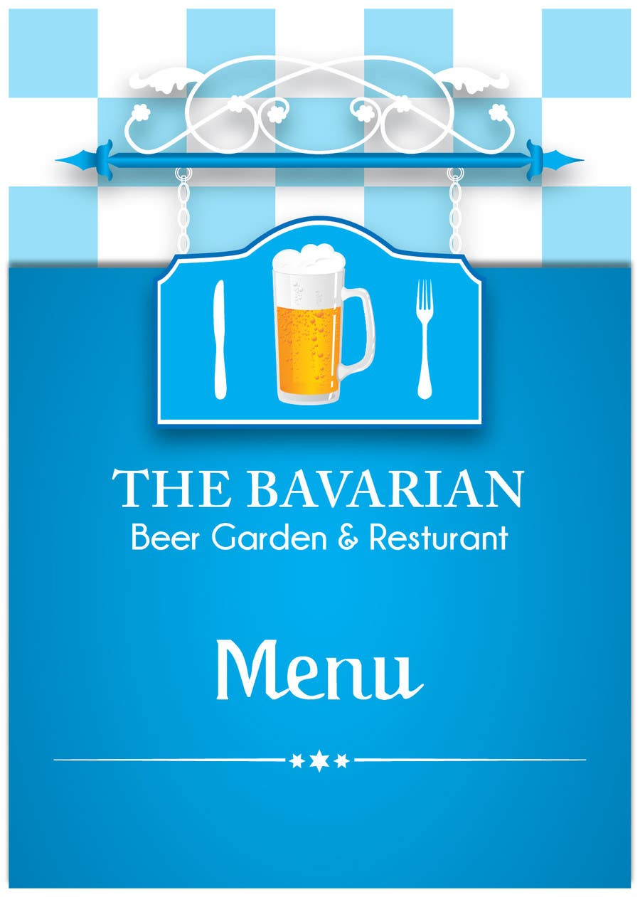 #27 for Design a Menu and Business Card for a Bavarian Restaurant and Beer Garden by blackd51th