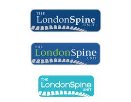 #31 untuk Design a Logo for London Spine Unit oleh AnaKostovic27