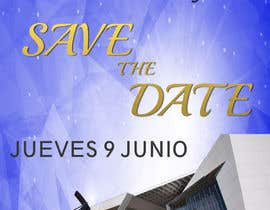 #91 for Diseño de un Save the Date para evento de aniversario by gerardoargenis