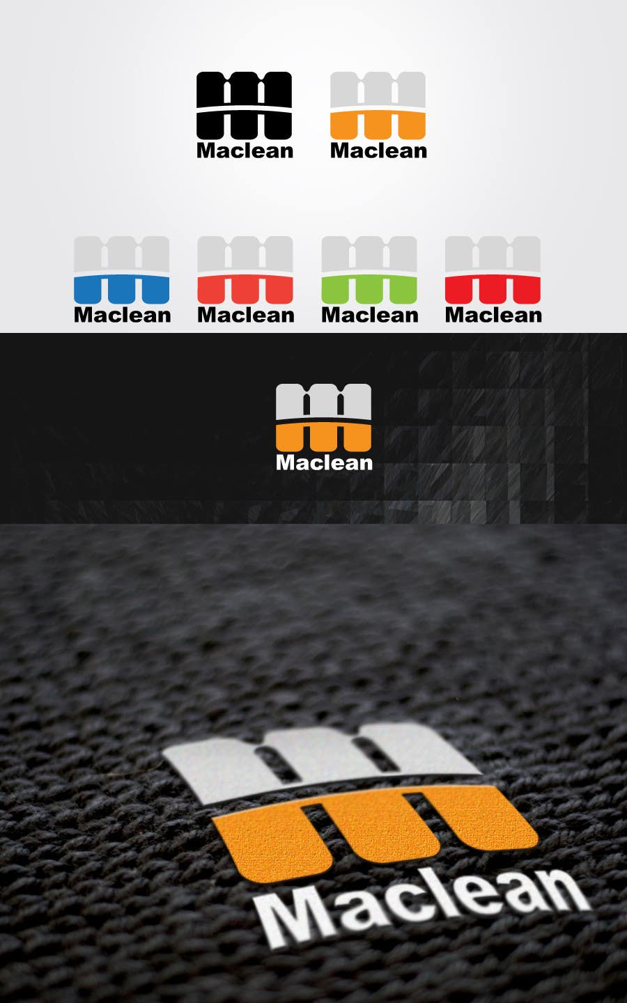 #384 for Design a Logo for Maclean by manish997