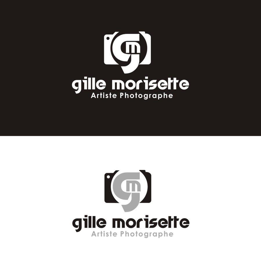 Proposition n°                                        21                                      du concours                                         Concevez un logo Gille Morisette Artiste Photographe