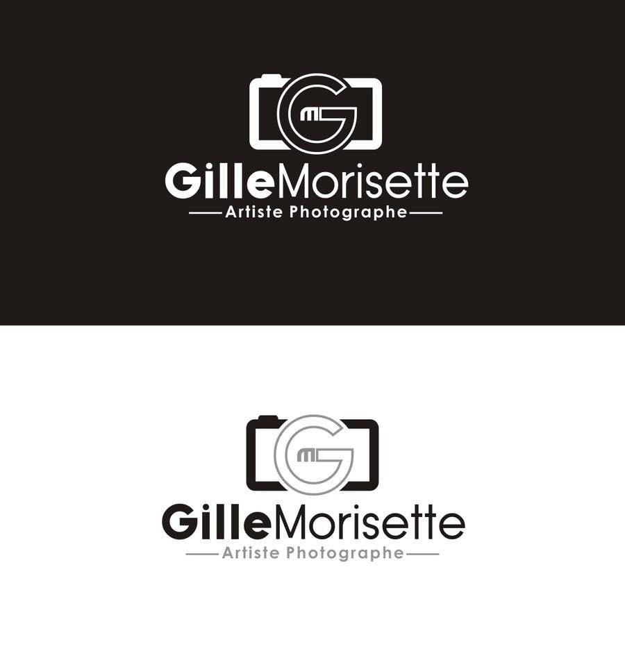 Proposition n°                                        22                                      du concours                                         Concevez un logo Gille Morisette Artiste Photographe