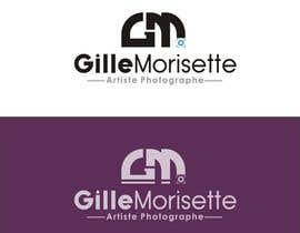 nº 31 pour Concevez un logo Gille Morisette Artiste Photographe par Graphicpub