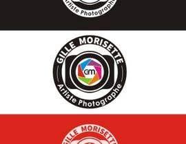 nº 34 pour Concevez un logo Gille Morisette Artiste Photographe par Graphicpub